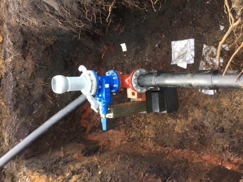 Pumped Sewer Main (Rising Main)